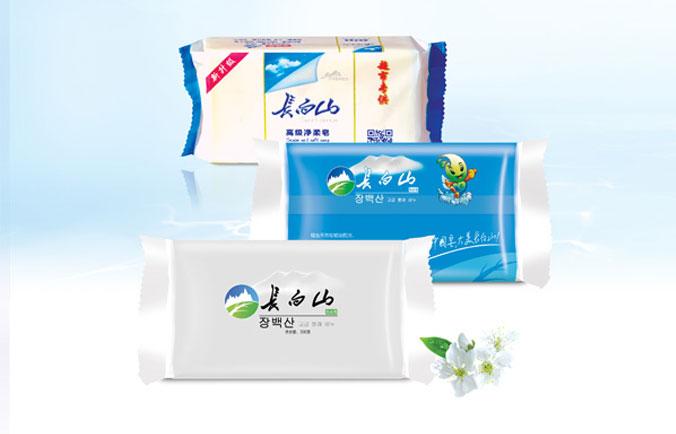 长白山洗衣皂