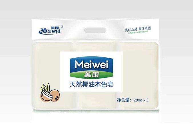 美围椰油本色皂