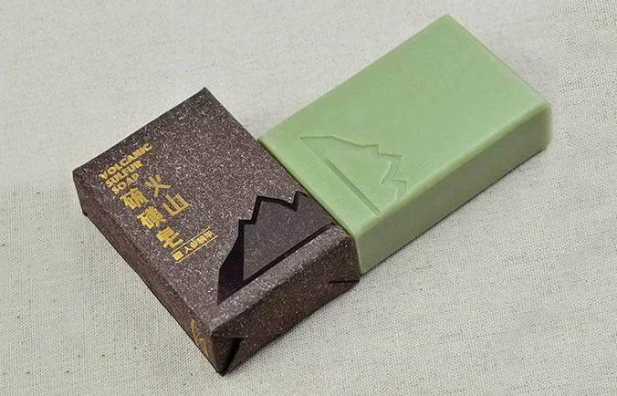 长白山火山硫磺皂